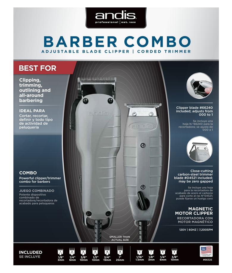 Barber Combo Andis