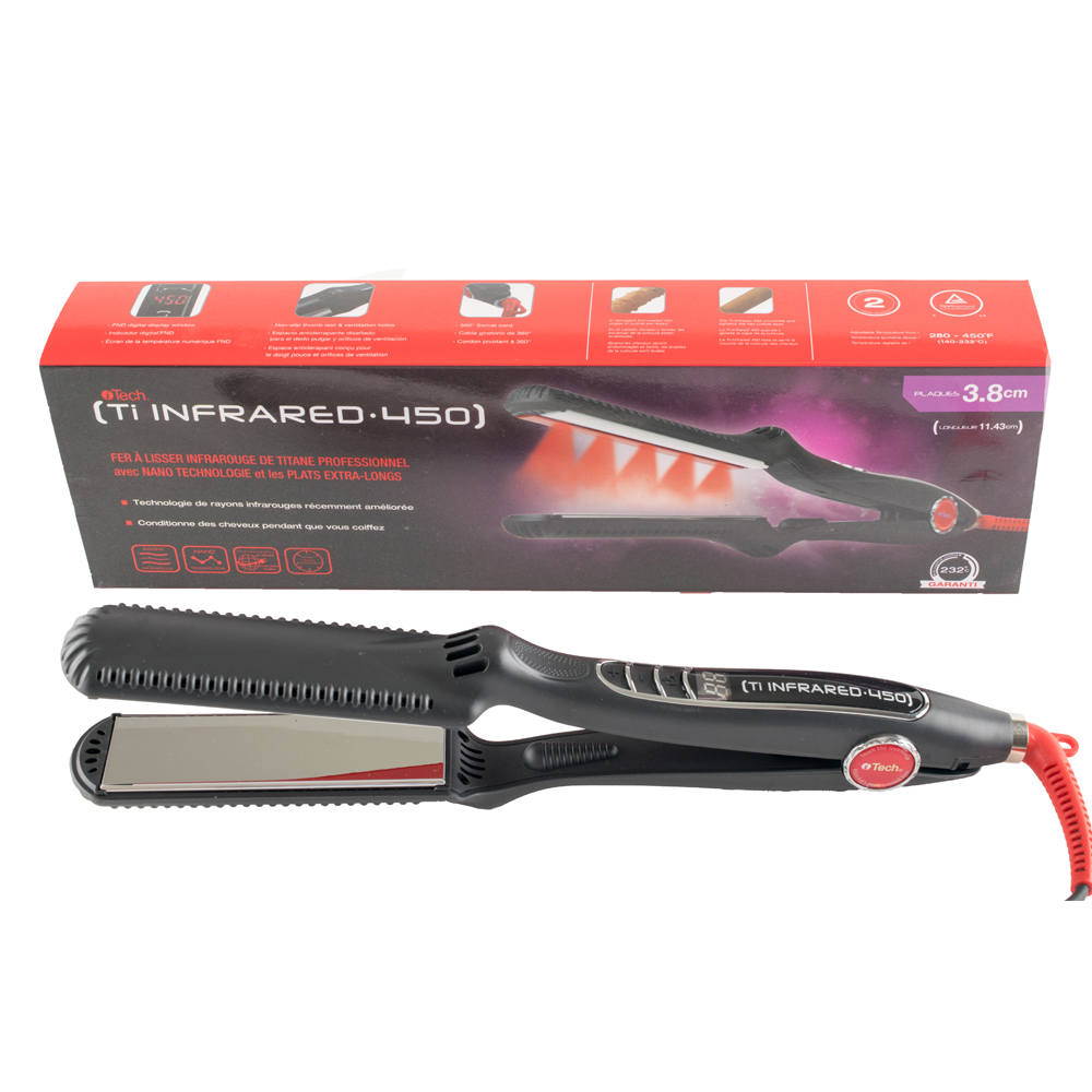 Plancha Itech Infrared 450F